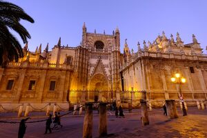 Seville Cathedral, UNESCO World Heritage Site, Seville, Andalucia, Spain, Europe