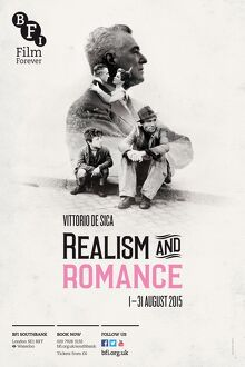 poster for realism and romance season at bfi southbank