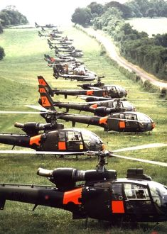 Aeropstiale Gazelle Helicopters