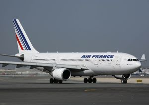 Airbus A330-200 Air France at Dubai Airport