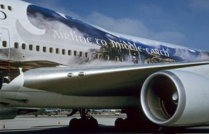 Boeing 747-400 Air New Zealand in special Lord of the Rings livery