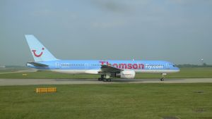 Boeing 757 Thomson at Stansted