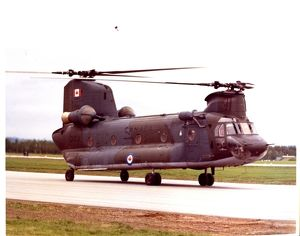 CH 147 Chinook Helicoper (Canadian)