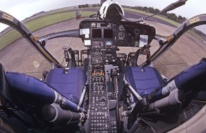 Cockpit of MD902 Explorer helicopter of Lincs & Notts air ambulance