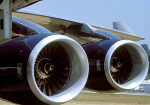 Engine: Rolls Royce RB211 on British Airways Boeing 747