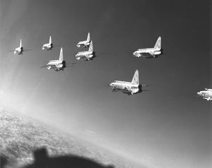 English Electric Lightnings in formation