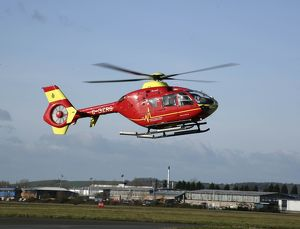 Eurocopter EC135 Bond Air Services in use as air ambulance