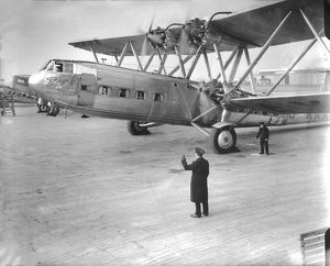 Handley Page HP42 Heracles Imperial Airways at Croydon airport