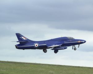 Hawker Hunter display aircraft