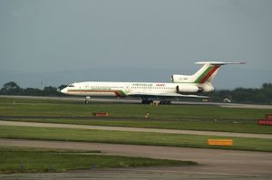 Hemus Air Tupolev TU154 at Manchester Airport UK