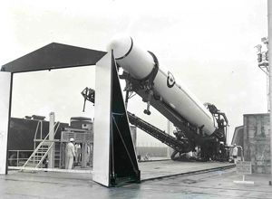 hor was the first operational ballistic missile in the arsenal of the United States
