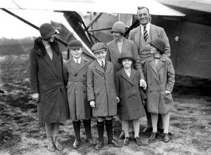 Lady Bailey and Family with Louis Paget