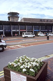 Leeds Bradford Airport, UK - passenger drop off point