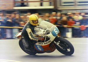Joey's first TT victory; the 1977 Jubilee TT