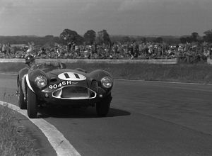 Aston Martin DB3S Peter Blond,Goodwood Whit Monday meeting 10/06/1957