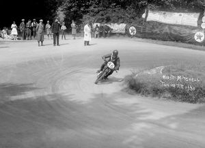 Velocette, H.Mitchell in the 1930 Isle of Man Junior TT