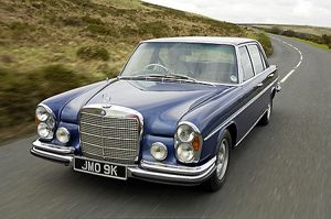 Mercedes-Benz 280SE 1971 blue