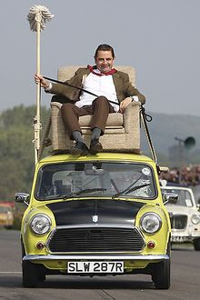 Mini 1000 Mr Bean Car