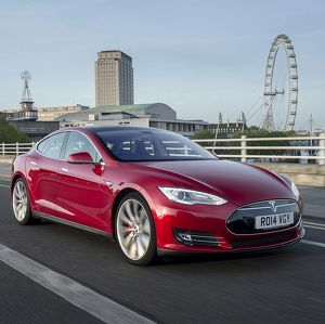 Tesla Model S (electric 4-door sports)