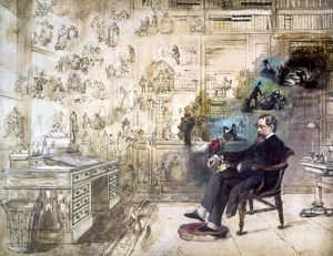 CHARLES DICKENS (1812-1870). English novelist