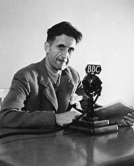 GEORGE ORWELL (1903-1950). Pseudonym of Eric Blair. English novelist and essayist