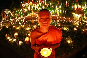 <b>Monks in Chiang Mai</b><br>Selection of 7 items