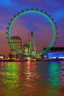 <b>London Eye goes green for St Patrick's Day</b><br>Selection of 6 items