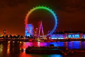 <b>London Eye goes Rainbow</b><br>Selection of 3 items