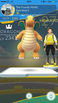 <b>Pokemon Go Gym Battle</b><br>Selection of 7 items
