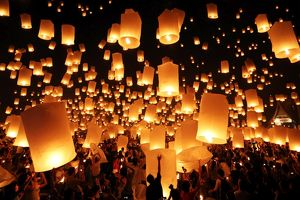 <b>Loy Krathong, Thailand</b><br>Selection of 26 items