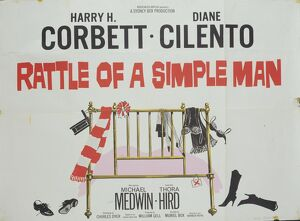 <b>RATTLE OF A SIMPLE MAN (1964)</b><br>Selection of 10 items