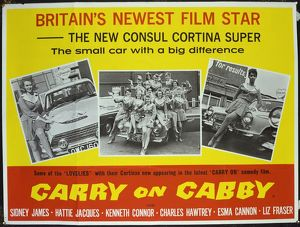 <b>CARRY ON CABBY (1963)</b><br>Selection of 2 items