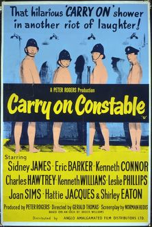 <b>CARRY ON CONSTABLE (1960)</b><br>Selection of 15 items