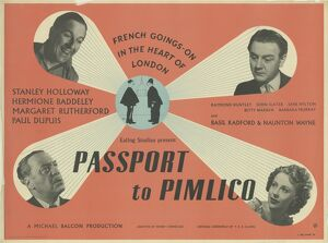 <b>Passport to Pimlico (1949)</b><br>Selection of 13 items