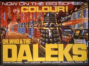 <b>Dr. Who and the Daleks (1965)</b><br>Selection of 48 items