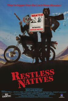 <b>RESTLESS NATIVES (1985)</b><br>Selection of 1 items