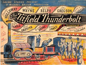 Titfield Thunderbolt UK quad artwork