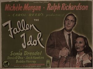 <b>FALLEN IDOL (The) (1948)</b><br>Selection of 10 items