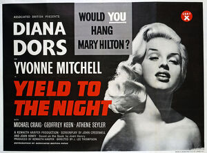 <b>YIELD TO THE NIGHT (1956)</b><br>Selection of 28 items