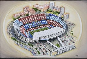 <b>Stadia of Spain</b><br>Selection of 3 items