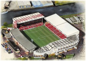 City Ground Art - Nottingham Forest #8649189
