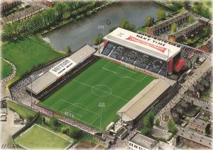 Edgeley Park Art - Stockport County #8649199