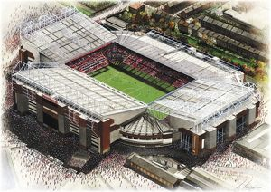 Old Trafford Art - Manchester United #8652049