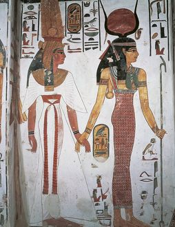 art/archeology/egypt ancient thebes luxor valley queens