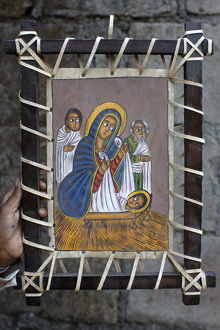 Nativity icon sold in Lalibela