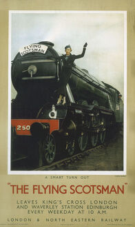 The Flying Scotsman', LNER poster, c 1935.